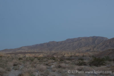 Hills in Anza Borrego State Park California