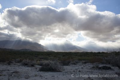 Storm Clouds Anza Borrego State Park California